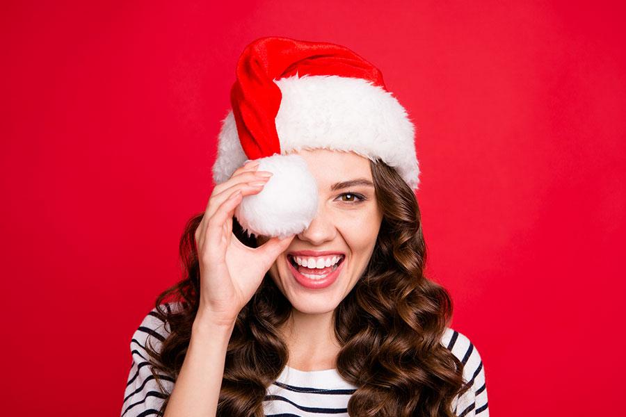 Navidad y salud bucodental, sonrisa sana durante la Navidad