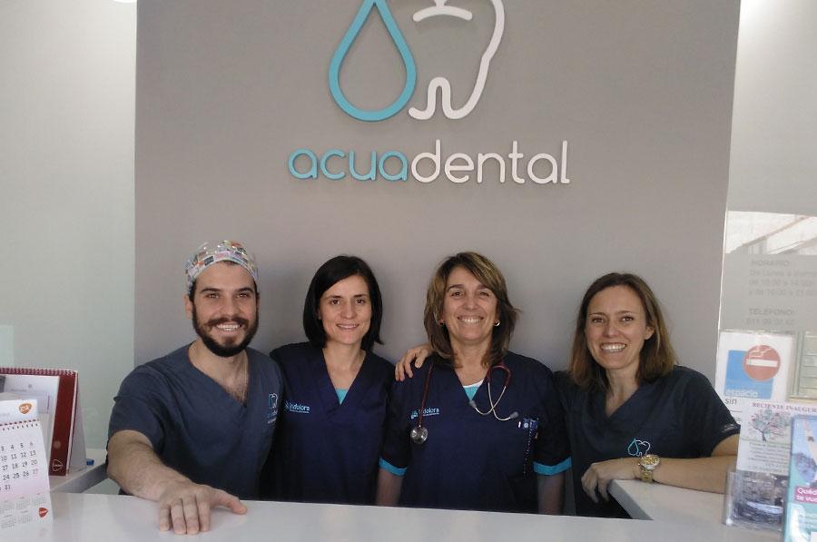 Equipo de dentistas de Acuadental Arganda del Rey