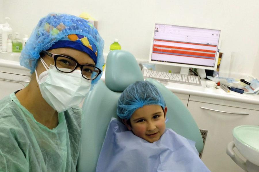 aparato dientes niños argandaa